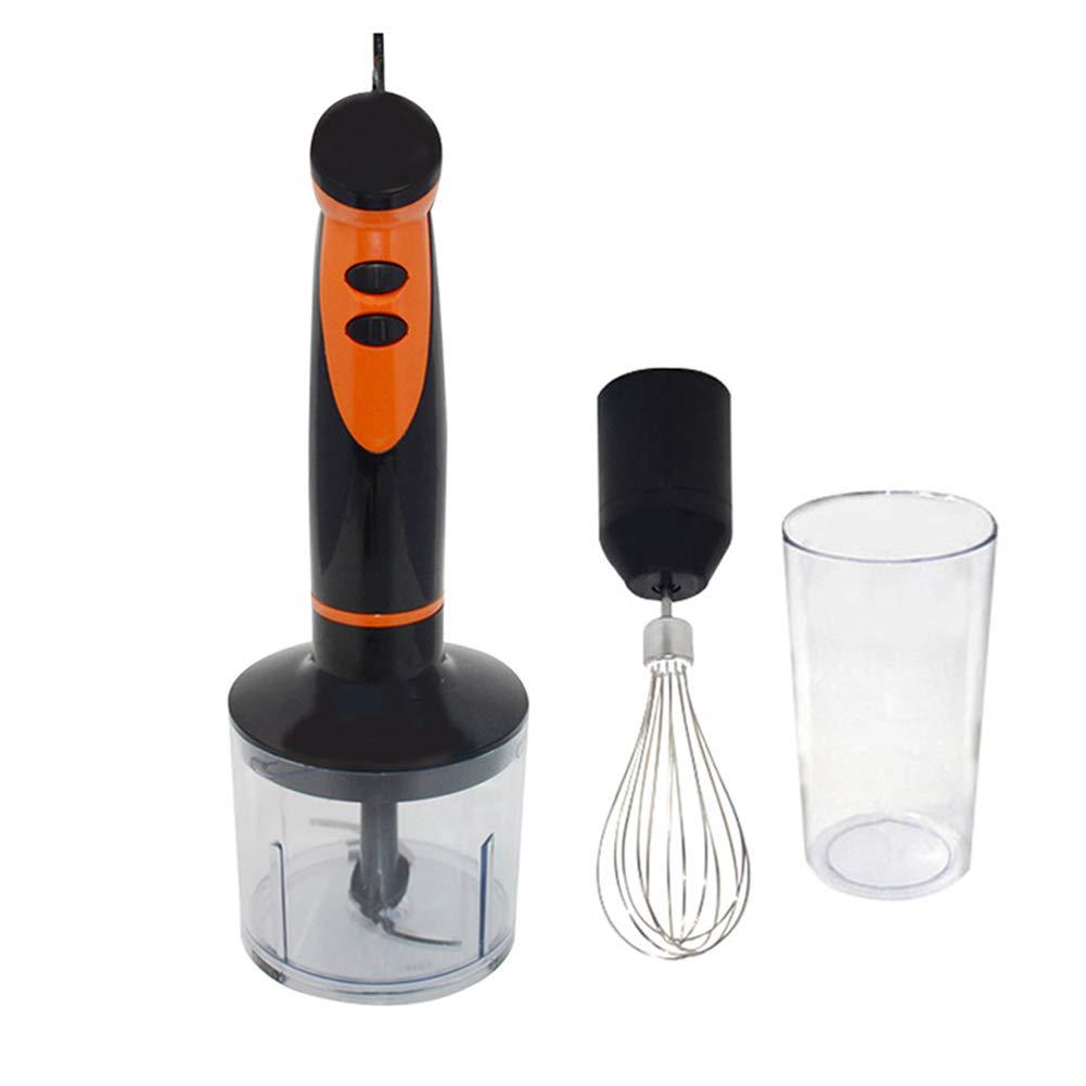 Solar Immersion Hand Blender, 4 In1 Blender Chopper Whisker Cup 300W Multifunctional Blender Fruit Vegetable Food Processor Hand Mixer (220V)