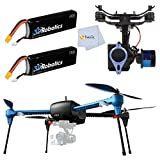 3d Robotics Iris+ Multicopter 915 Mhz 3DR IRIS+ with GoPro Mount + Tarot T-2D Brushless Gimbal Kit for 3D Robotics IRIS+ + 2 Batteries