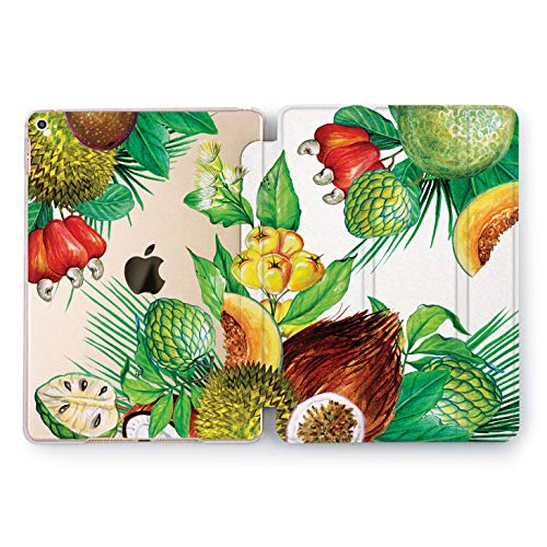 (Wonder Wild Tropical Still Life iPad Mini 1 2 3 4 Case Air 2 Pro 10.5 12.9 Tablet 2018 2017 9.7 inch 5th 6th Generation Summer Leaves Cover Green Plant Melon Flowers Fruit Nuts Palm Tree Coconut)
