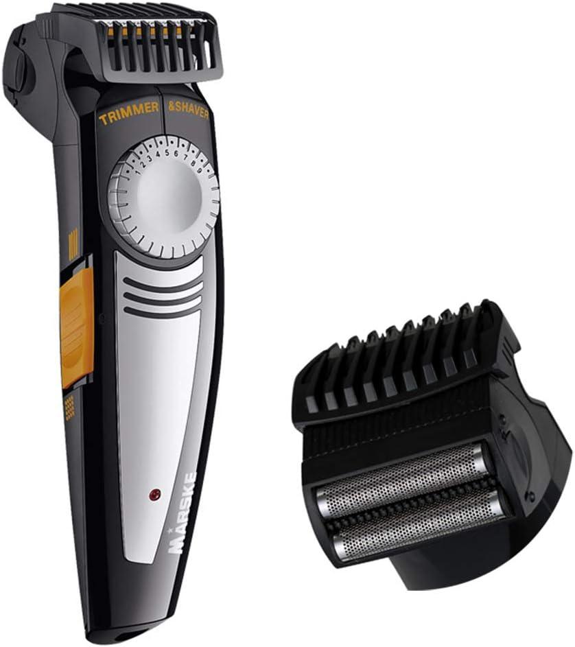 Hair Style 2 en 1 Clippers de Pelo inalámbrico USB Recargable ...