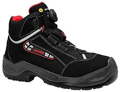 Elten 2063155 - Boa zapatos de seguridad lijadora tamaño 42 esd s3