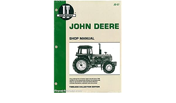 JD-57 John Deere 4050 4250 4450 4650 4850 Tractor Service Manual: Manufacturer: Amazon.com: Books