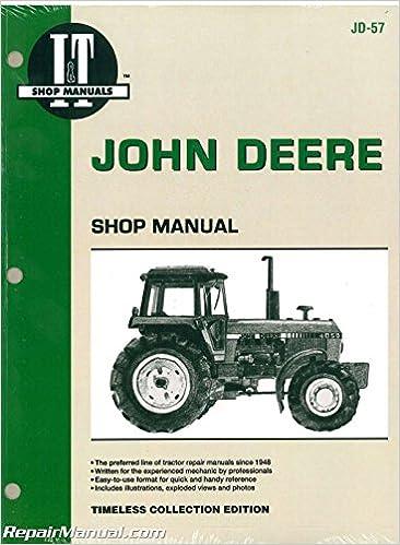 jd-57 john deere 4050 4250 4450 4650 4850 tractor service manual:  manufacturer: amazon com: books