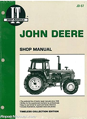 jd 57 john deere 4050 4250 4450 4650 4850 tractor service manual rh amazon com