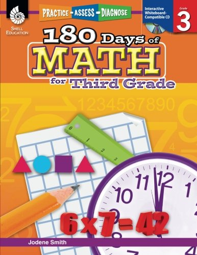 180 Days of Math for Third Grade (180 Days of Practice) cover