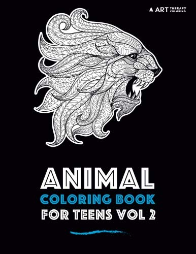 Animal Coloring Book For Teens Vol 2 ebook