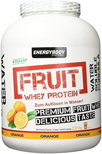 Energybody Fruit Whey Protein Fruity Orange, 2270 g