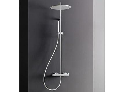 Treemme colonna doccia termostatica con doccetta e soffione