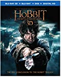 Cover Image for 'Hobbit, The: The Battle of the Five Armies (3D Blu-ray + Blu-ray)'