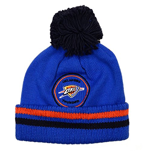NBA Mitchell and Ness Big Man Hi Five Knit Hat with Pom