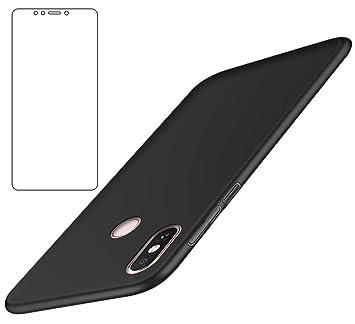 BLUGUL Funda Xiaomi Mi MAX 3 + Protector de Pantalla, Ultra ...