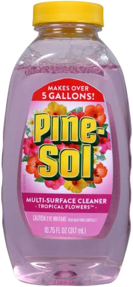Pine-Sol Multi-Surface Cleaner - Tropical Flowers, 10.75 fl oz