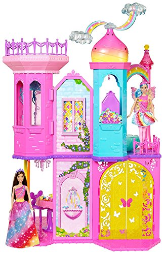 Mattel Barbie Rainbow Cove Dreamtopia Castle (Fairy Castle Playset)
