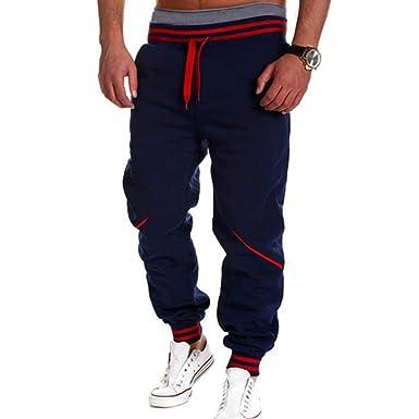 Pantalones De Chándal Hombres Hombre Hip Hop Harem Joggers ...