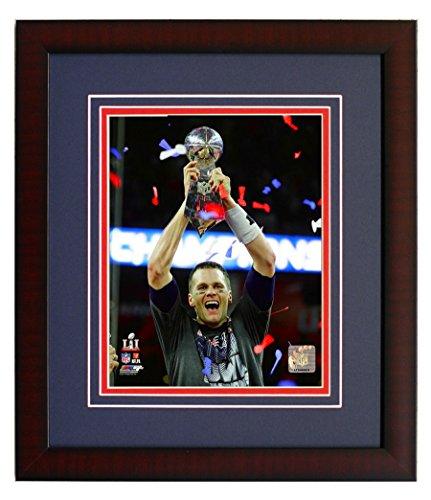 Super Bowl Trophy 8x10 Photograph - 8