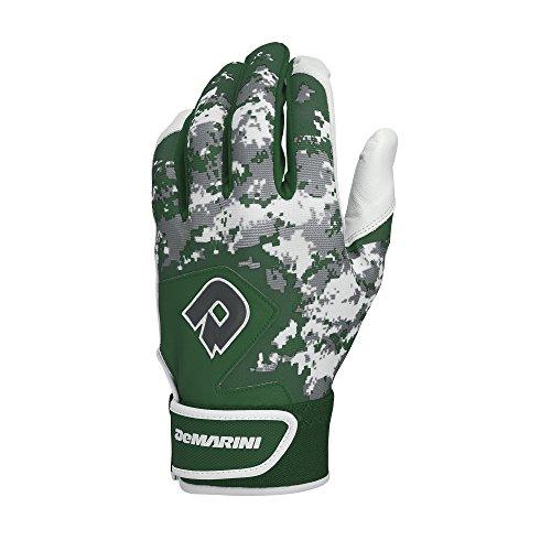- DeMarini Digi Camo II Youth Batting Gloves, Dark Green, Medium, Pair