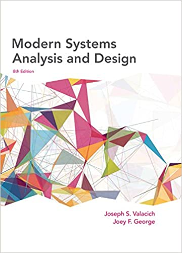 Modern System Analysis And Design Hoffer Ebook