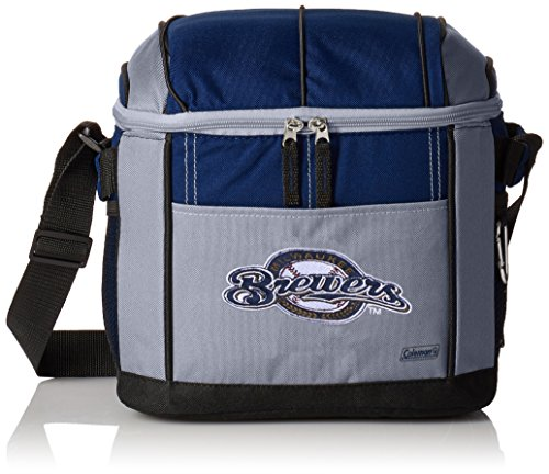 MLB Brewers 24 Can Soft Sided Cooler (Milwaukee Brewers Pool)