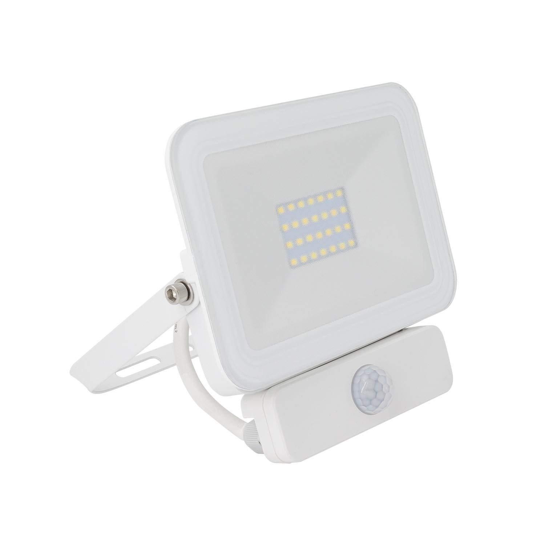 Foco Proyector LED Slim con Detector de Movimiento PIR 20W Blanco ...