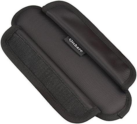 USA 1 Pair Soft Shoulder Strap Pads Fastener Cushions for Bag Backpack Satchel