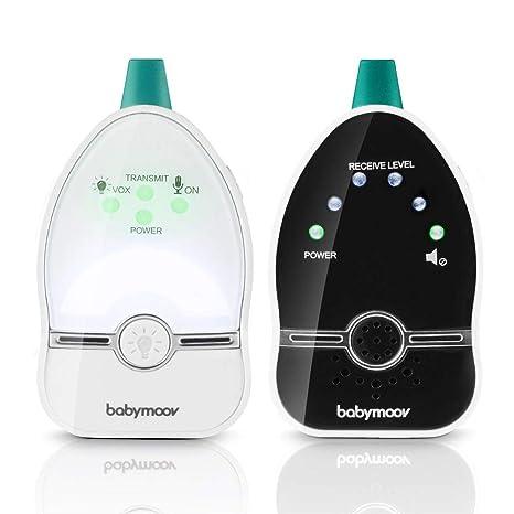 Babymoov Easy Care - Vigilabebés audio con lamparita