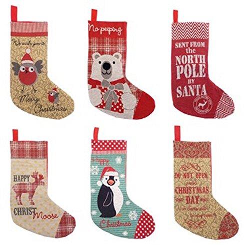 Weihnachtsstrumpf, Weihnachtssocke, Nikolaussocke, Nikolausstrumpf