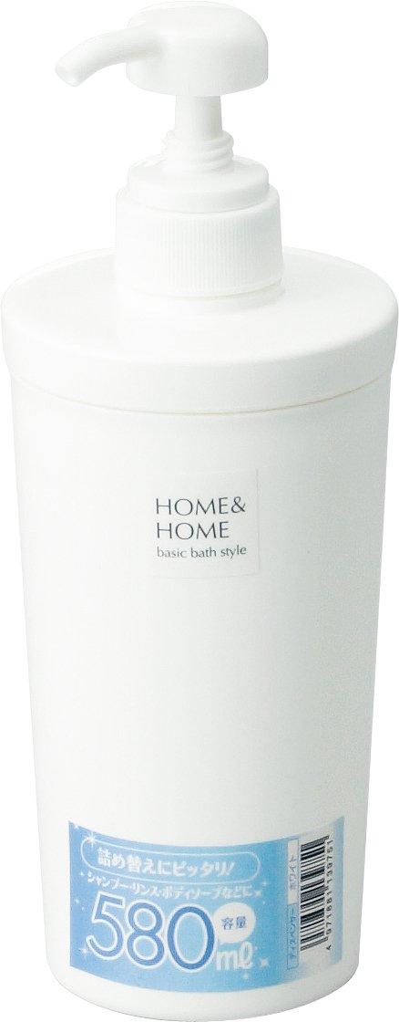 リス HOME&HOME ディスペンサー ホワイト