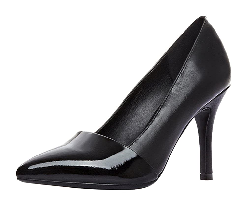 DYF Feine Damen Schuhe High Heel Scharfe Farbe Größe Flach Flach Flach Mund Schwarz 40 78f75a