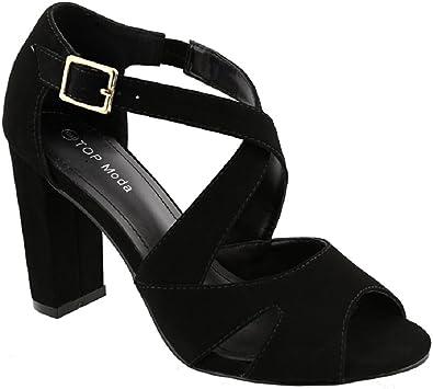 TOP Moda Amanda-6 Women's Ankle Strap