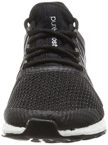 adidas Damen Pureboost Xpose Gymnastikschuhe schwarz (Negbas/Negbas/Plteme)