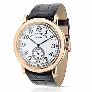 Franck Muller Liberty mechanical-hand-wind mens Watch 7421 B S6 VIN (Certified Pre-owned)