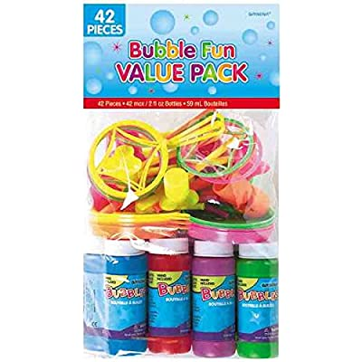 amscan Bubble Fun Party Supplies , Party Favor , Pack of 42: Toys & Games