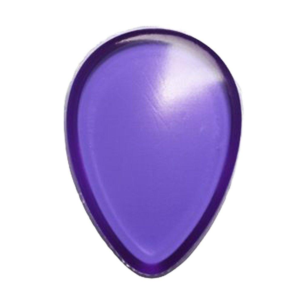 Spugna lavabile in silicone a forma di goccia lavabile - Strumenti cosmetici per il trucco di bellezza viso Blender (colore casuale) 1 PC Hilai