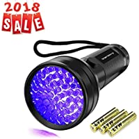 UV Flashlight Black light UV Lights , Vansky 51 LED...