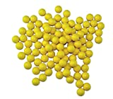 GXG Paintball Rubber 100 Reusable Paintballs Yellow Deal (Small Image)