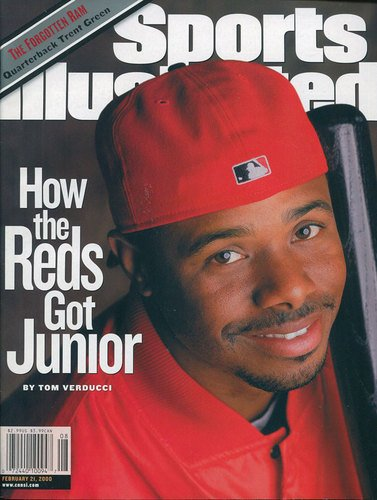 2000 Sports Illustrated Magazine - Sports Illustrated February 21 2000 Ken Griffey Jr Cincinatti