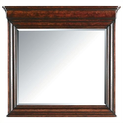 Stanley 058-13-30 Portfolio Louis Philippe Landscape Mirror, Orleans Finish