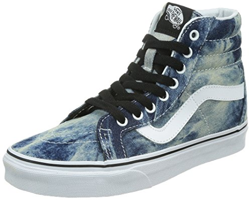 Vans U Sk8-Hi, Zapatillas Altas Unisex Adulto Azul (Dark Blue/white)
