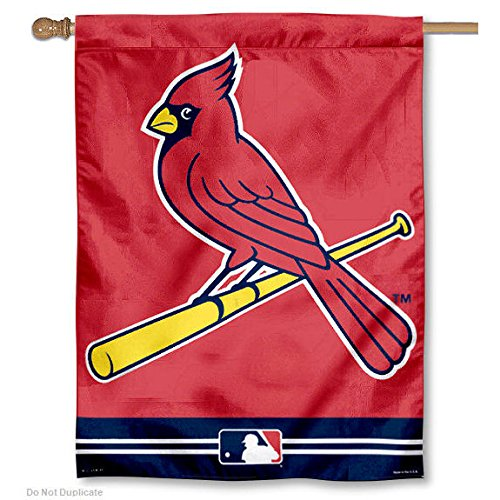 MLB St. Louis Cardinals 27'' x 37'' Vertical Banner Flag - Red/Navy Blue