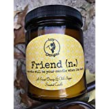 Friend Candle Aromatherapy Clean Burning