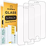 Wireless : [3-Pack]-Mr Shield for iPhone 6/iPhone 6S [Tempered Glass] Screen Protector Lifetime Replacement Warranty
