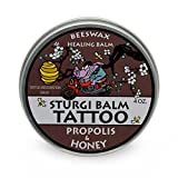 BLACK HILLS HONEY FARM STURGI BALM TATTOO 4 OZ. & FREE 1 OZ TRAVEL SIZE