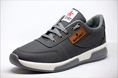 casual sport shoes with lace for men