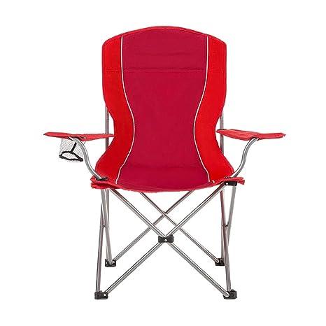Silla de camping Plegable, con portavasos, sillón al Aire ...