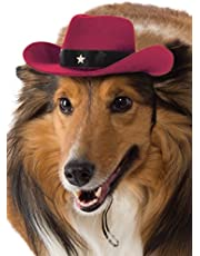 Rubies Costume Co Red Cowboy Hat Dog Costume
