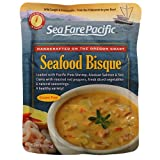 Sea Fare Pacific Seafood Bisque Soup, Gluten Free - 9 oz Pouch (Pack of 8)