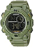 Armitron Sport Men's 40/8284DGN Digital Display Quartz Green Watch