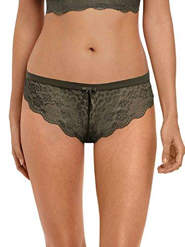 Freya Women's Fancies Low Rise Lace Brazilian Panties, Olive, L