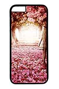 iPhone 6 Case - Illustrators Series Protective Hard Black Case Cover Skin For iPhone 6 (4.7 inch) Path 4
