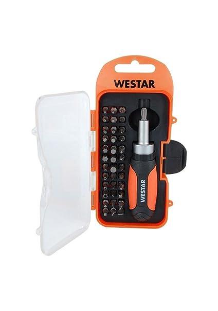 Westar 8435353704039 - Set destornillador carraca: Amazon.es ...